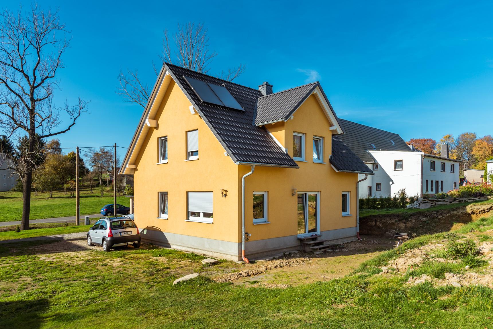 Referenz - Kleinhartmannsdorf - AGL Massivhaus Projektbau GmbH